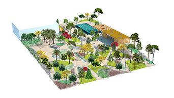 Jardín Mas Iglesias, Reus