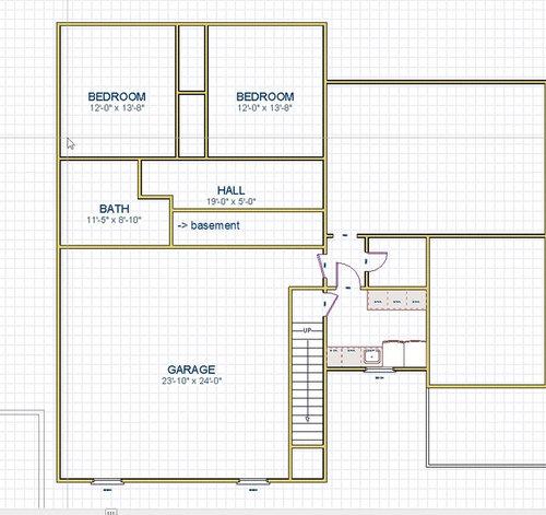 Help With Bonus Room Stair Layout