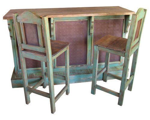 Rustic Bars Bar Stools And Wine Cabinets