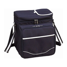 Picnic Cooler for Two by Picnic at Ascot, Navy/White