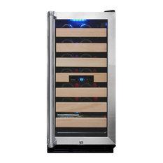 Vinotemp 26-Bottle Wine Cooler With Interior Display