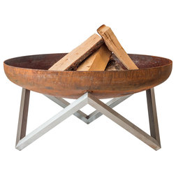 Contemporary Fire Pits by Curonian Deco, LLC