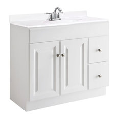 Design House   36 In. Vanity Cabinet In White Finish (36 In. W