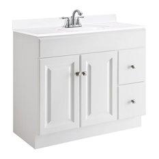 Bathroom Vanities 36 X 18 18x36 bathroom vanities | houzz