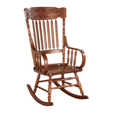 Acme Furniture   Acme Kloris Rocking Chair, Tobacco   Rocking Chairs