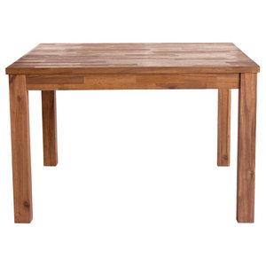 Tiburon Square Dining Table, Amber