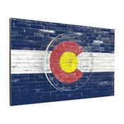 Colorado Brick Dart Backboard Combo