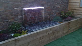 Water Feature built in the wall