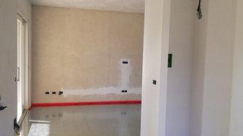 Impianto pavimento a secco a basso spessore cm. 2,7