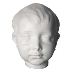 Infant Christ Mask, Masks Drawing Casts