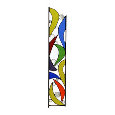 Outdoor Glass Art, Stained Glass Yard Art, Windsong Glass Studio