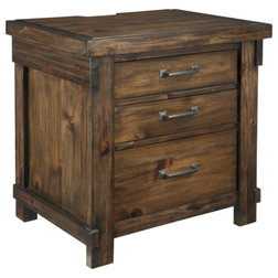 Transitional Nightstands And Bedside Tables by Emma Mason