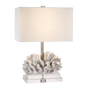 """Elkhorn Coral Table Lamp, 22""""H"""