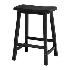 winsome saddle seat stool black bar stools and counter stools