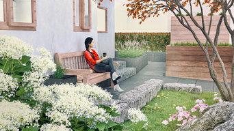 Privatgarten Visualisierung