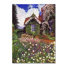 "David Lloyd Glover 'The Painter's Studio' Canvas Art, 14""x19"""