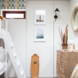 Inspiration for a coastal kids' bedroom in Cornwall.