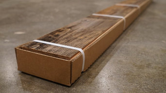 "Reclaimed Wood Planks - ""Natural"" -  1/4"" x 5"" Ship Lap - 16 Sq. Ft. - Packaged"