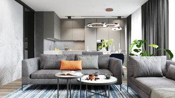 Дизайн-проект квартиры в г. Калининграде