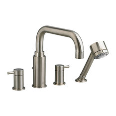 Serin Roman Tub Faucet With Personal Shower for Flash Rough-In Valves