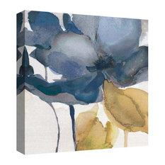 "Blue Note II by Carol Robinson Wrapped Canvas Art Print, 24""x24"""