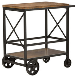Industrial Bar Carts by HedgeApple