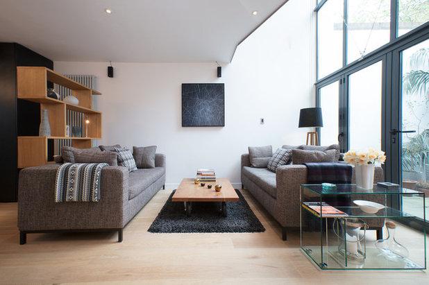 Contemporary Living Room by Studio Schubert