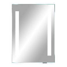 Impeccable III LED Lighted Bathroom Vanity Mirror   Bathroom Mirrors