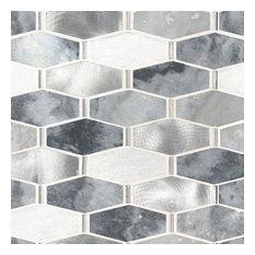 Ankara Polished Decorative Pattern Backsplash Wall Tile, Sample