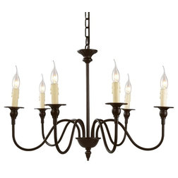Traditional Chandeliers by LALUZ