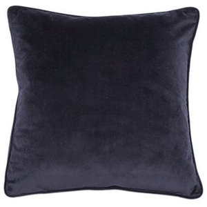 Navy Blue Luxe Cushion