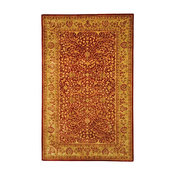 "Persian Legend Area Rug, Rectangle, Rust, Beige, 8'3""x11'"