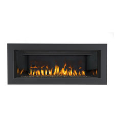 napoleon napoleon vector lhd45 linear gas fireplace modern direct vent indoor fireplaces - Napoleon Fireplaces