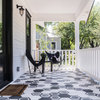 Houzz Tour: Black-and-White Details Refresh a 1920 Texas Bungalow