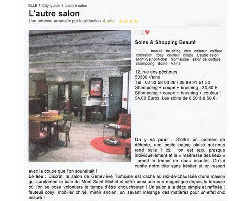 L 39 autre salon entre salon de coiffure et salon de th for L autre salon de the bordeaux