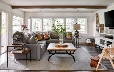 Houzz Tour: Modern Farmhouse Style for a Casual Lake House