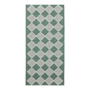 Dialog Woven Vinyl Floor Cloth, Green, 70x300 cm