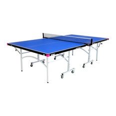 Butterfly   Rolling Ping Pong Table, Blue   Game Tables