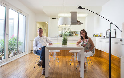 My Houzz:快適な「住と働」空間に改修、建築家夫妻のウィーンの自邸兼アトリエ