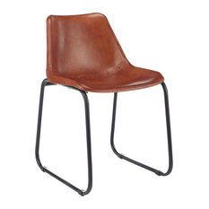 Smooth Leather Club Chair