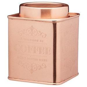 Le'Xpress Copper Storage Tin, Coffee