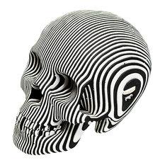 Vince Human Skull, Zebra, Micro
