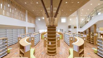 吉見町図書交流館