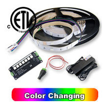 Dimmable LED Color Lighting Kits