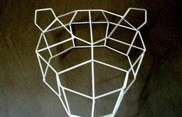Bend Seating Mama Bear Geometric Animal Head