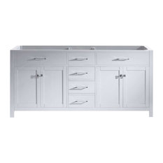 "Caroline 72"" Cabinet Only in White"