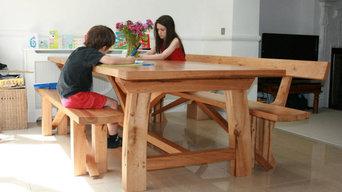 Contemporary Oak Refectory Table