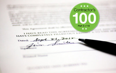 What to Look for in a Contractor's Contract