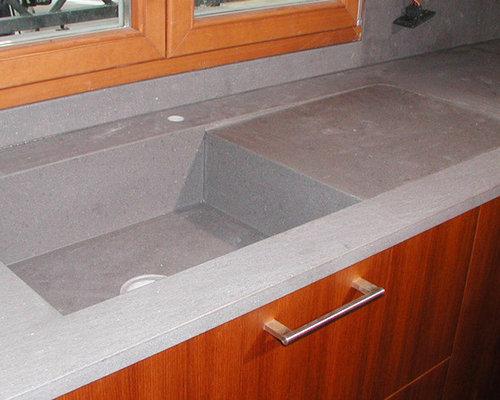 piani cucina e lavelli scavati dal blocco