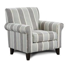 38 in. Upholstered Accent Chair